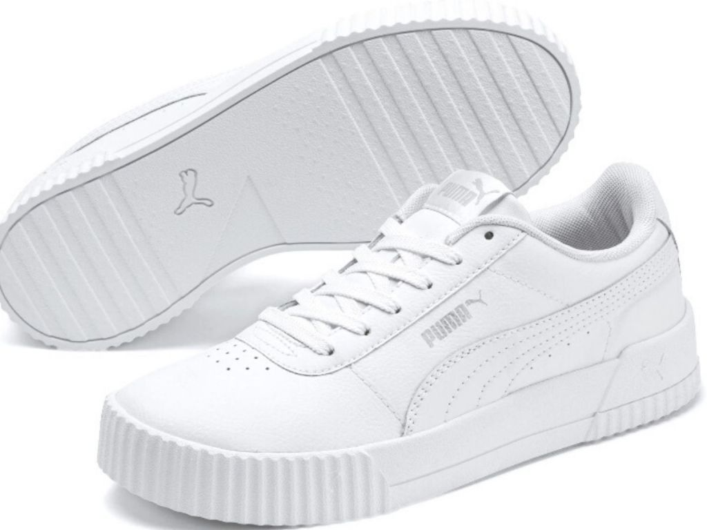 womens leather carina sneakers by puma