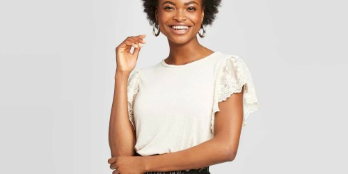 Xhilaration Women's Tops as Low as $12.59 on Target (Regularly $18)