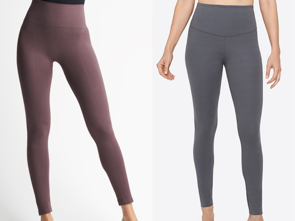 women wearing yummie leggings