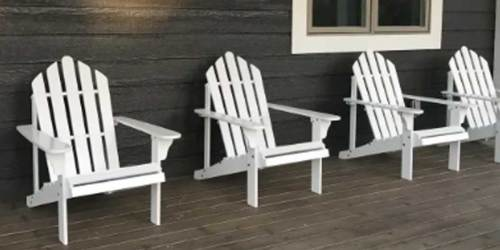Adirondack Chair Just $74.99 Shipped on Walmart.com (Regularly $123) | Great Reviews
