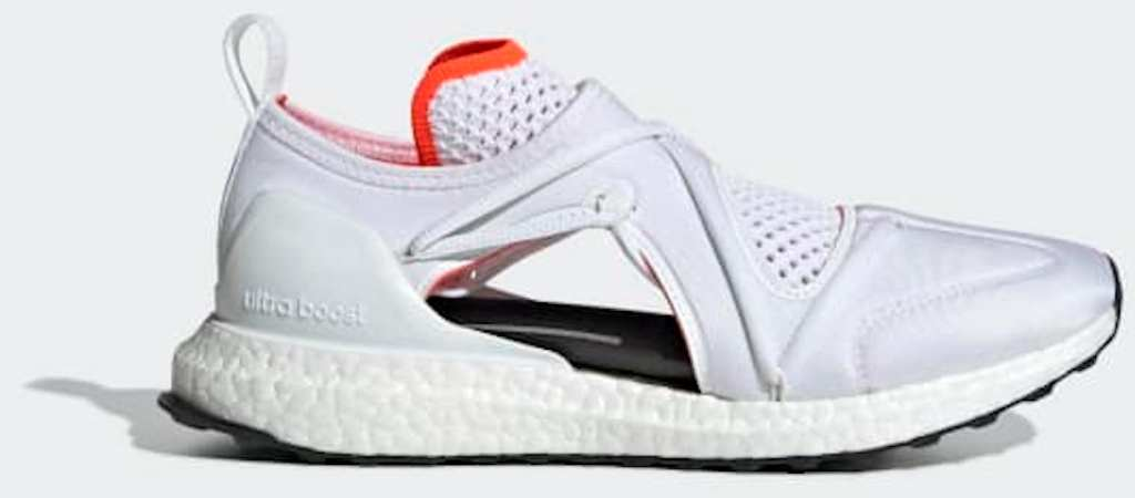 stock image of white adidas Women's Ultraboost T Shoes