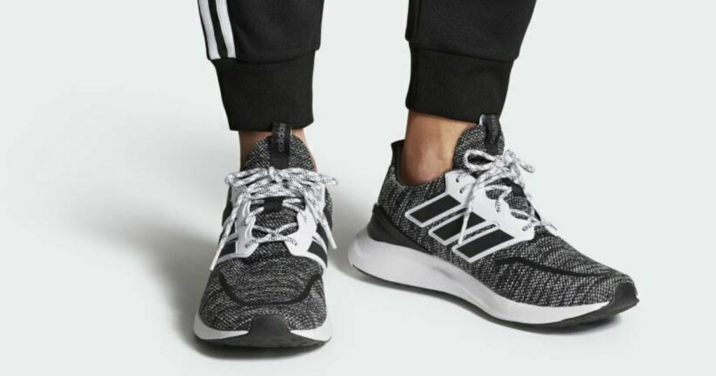 adidas energyfalcon shoes on feet