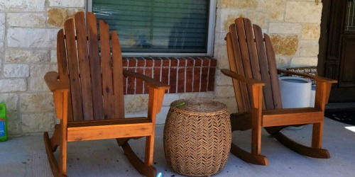 Adirondack Rocking Chairs Only $89.99 Shipped (Regularly $150)