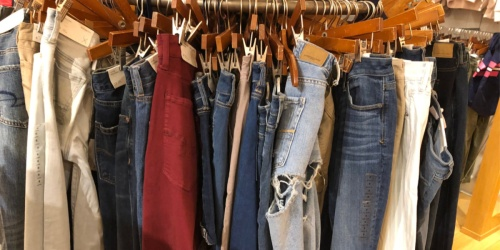 Up to 70% Off American Eagle Women's Jeans, Dresses, Tops & More