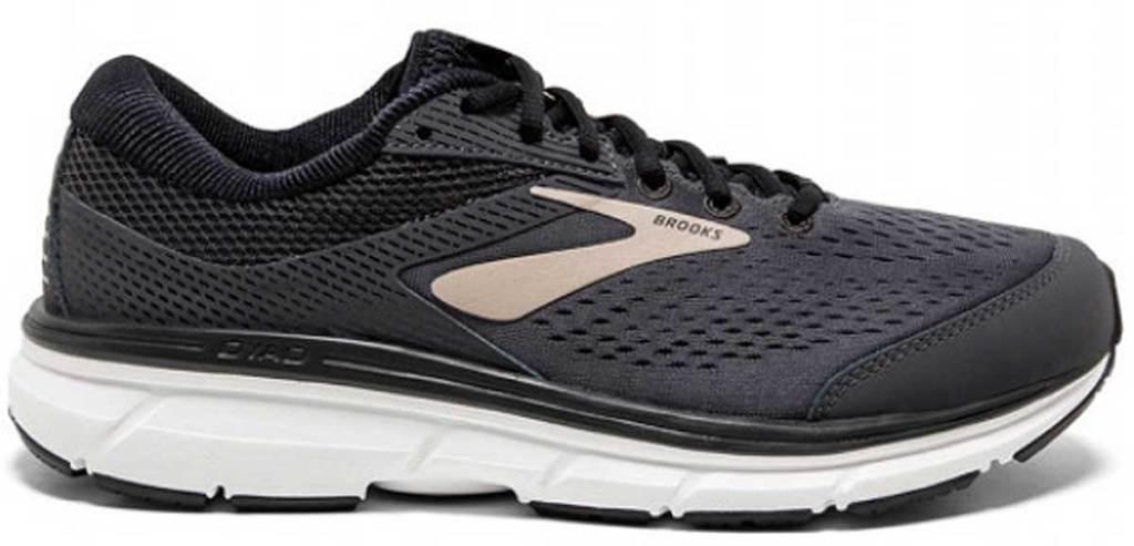 men's brooks running shoes stock image