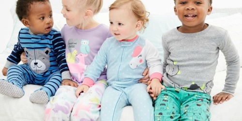 Carter's Fleece Footed Pajamas as Low as $1.60 on Kohl's (Regularly $20)
