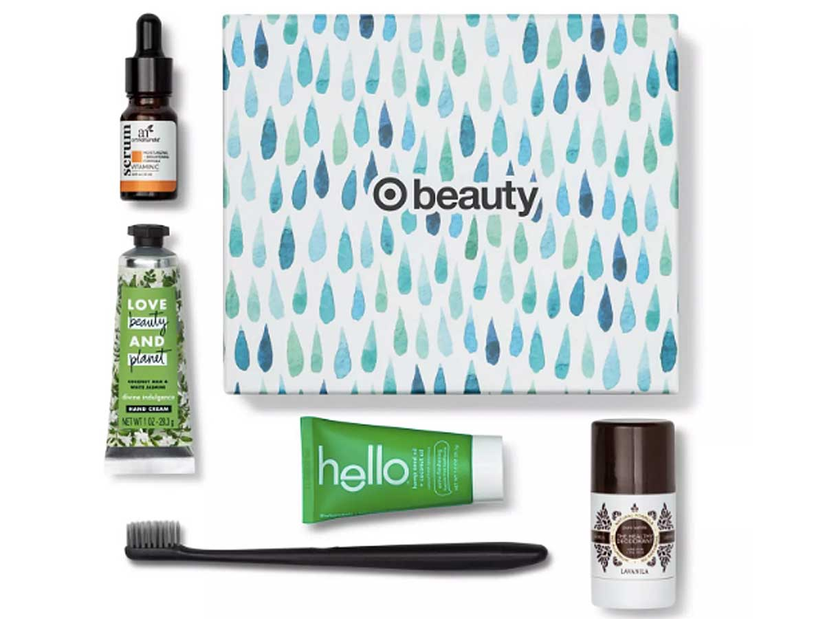 Clean Routine Beauty Box stock image