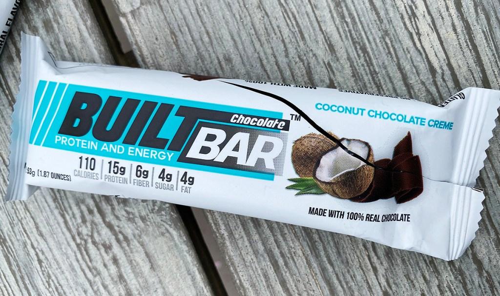 coconut cream built bar