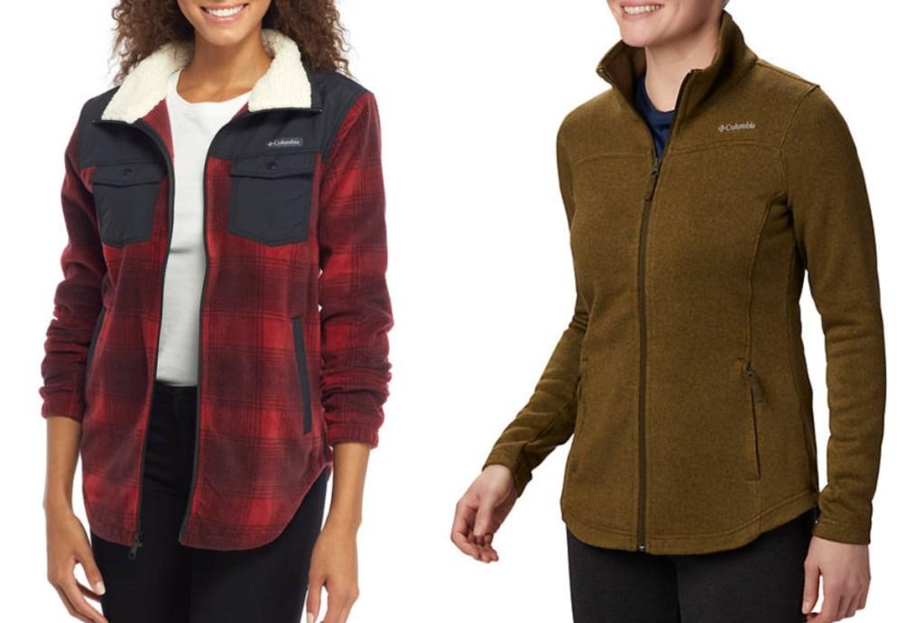 columbia womens jackets
