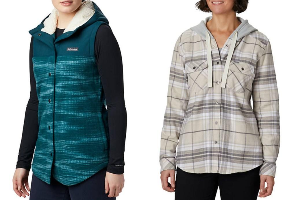 columbia womens vest