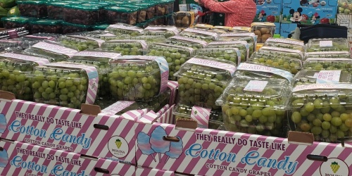 Cotton Candy Grapes Are Popping Back Up at Walmart & Now It's Available in Juice Form