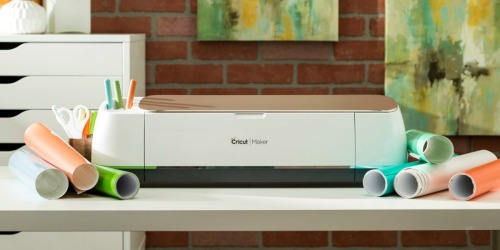 This Cricut Maker is Just $299.99 Shipped (Regularly $400) & Has Great Reviews
