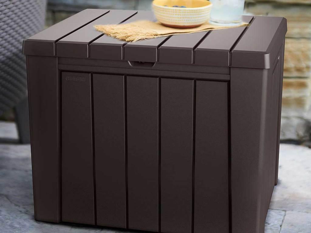 Keter Urban 30-Gallon Outdoor Deck Box/Storage Table