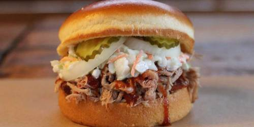 FREE Dickey's Barbecue Pit Pulled Pork Sandwich ($7 Value) | Carryout or Delivery