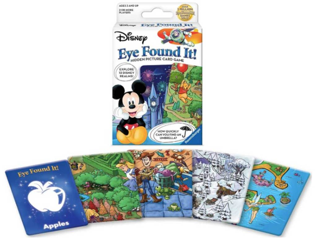 World of Disney Eye Found It Card Game stock image