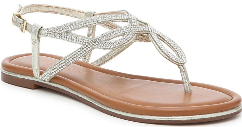 women's sparkly sandal