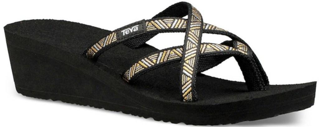 women's teva wedge sandal
