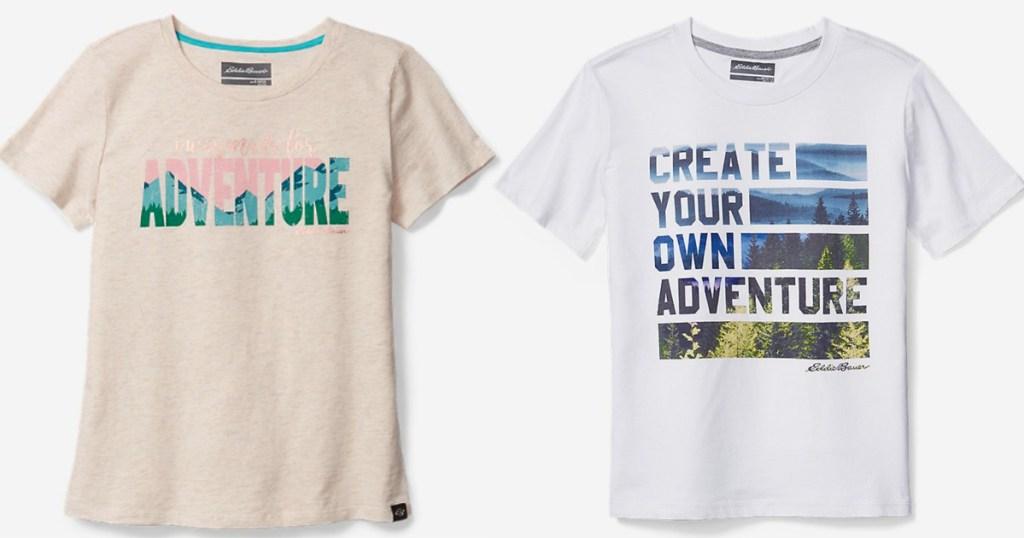 girls adventure shirt and boys create your own adventure shirt