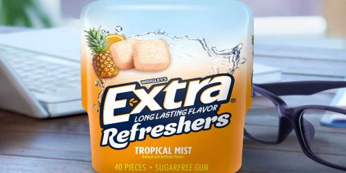 Extra Refreshers Gum Bottles 4-Pack Just $5.70 Shipped on Amazon