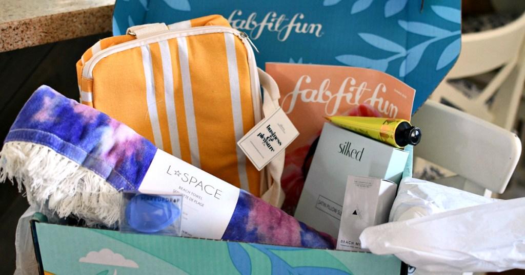 box of summer goodies