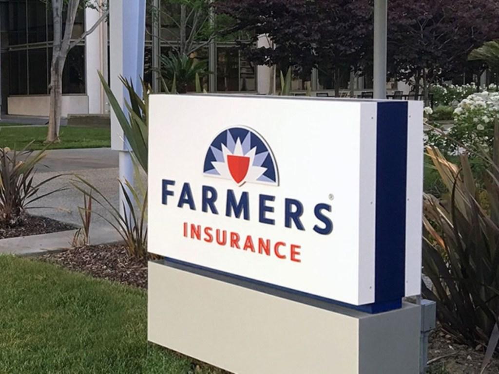 Farmer's Insurance sign
