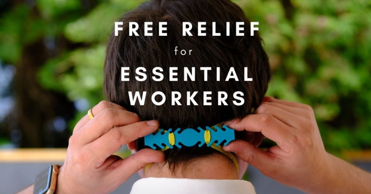 Free Ear Savers For Essential Workers Wear Face Masks