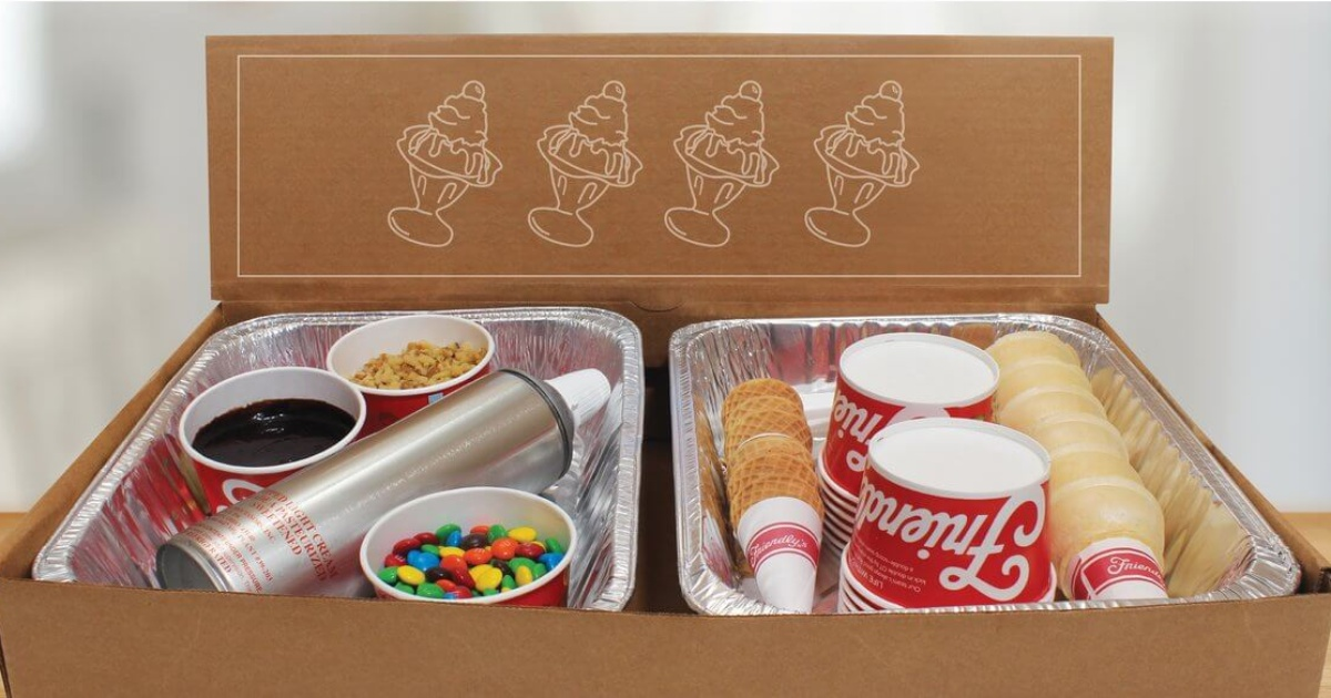 Friendly's Sundae Kit in a box