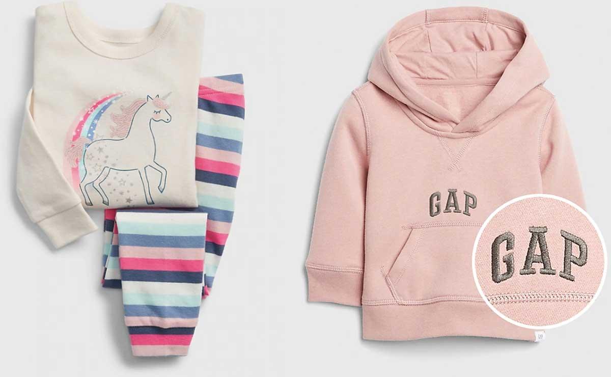 gap unicorn pjs and hoodie