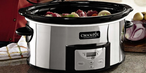 Crock-Pot iStir Slow Cooker Only $34.99 Shipped (Regularly $100) | Automatically Stirs Itself