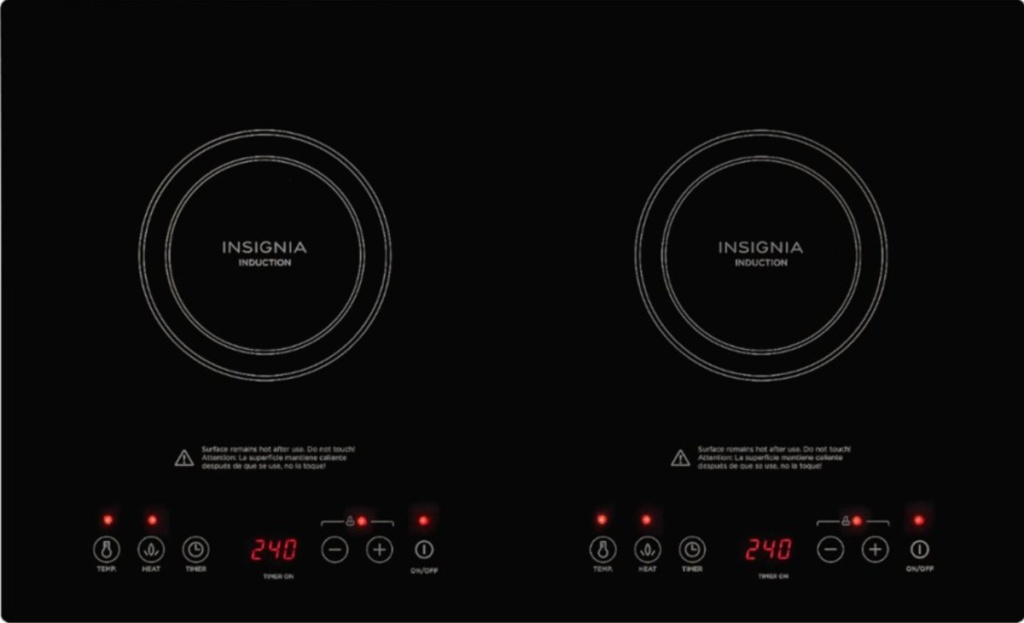 insignia induction cooktop