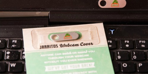 FREE Webcam Cover from Jarritos