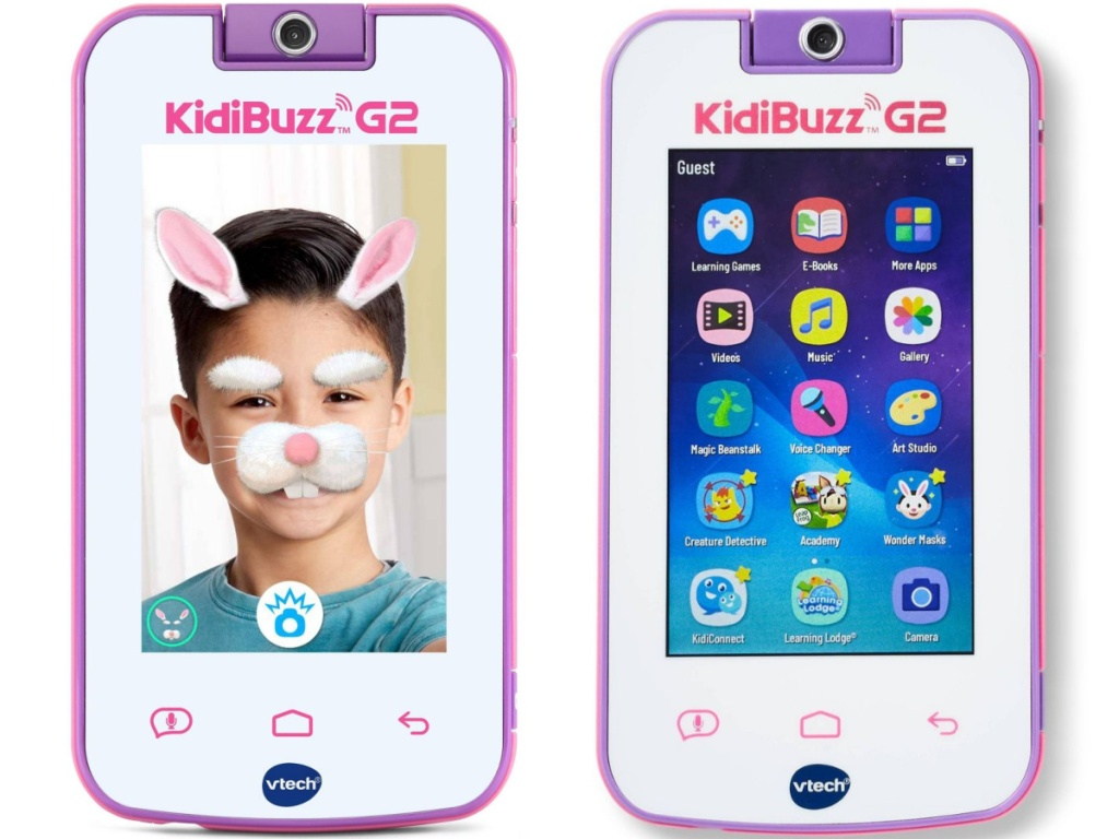 KidiBuzz G2 V-Tech smart device images