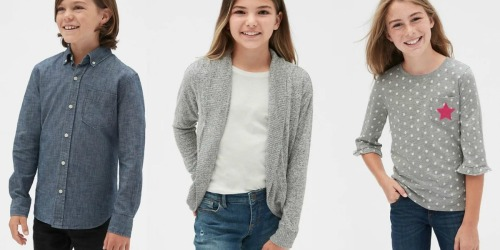 Gap Kids Apparel as Low as $6.49 | Shirts, Shoes & More