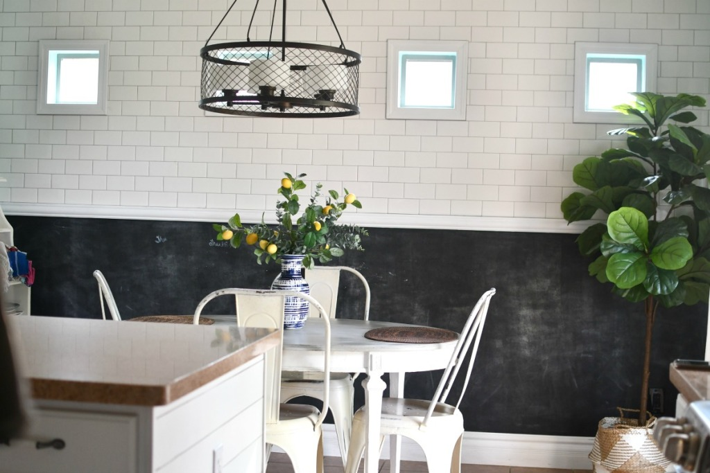 kitchen before wall pops
