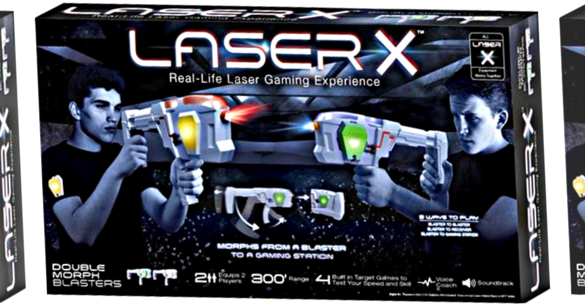Laser X 88042 Morph Double Pack