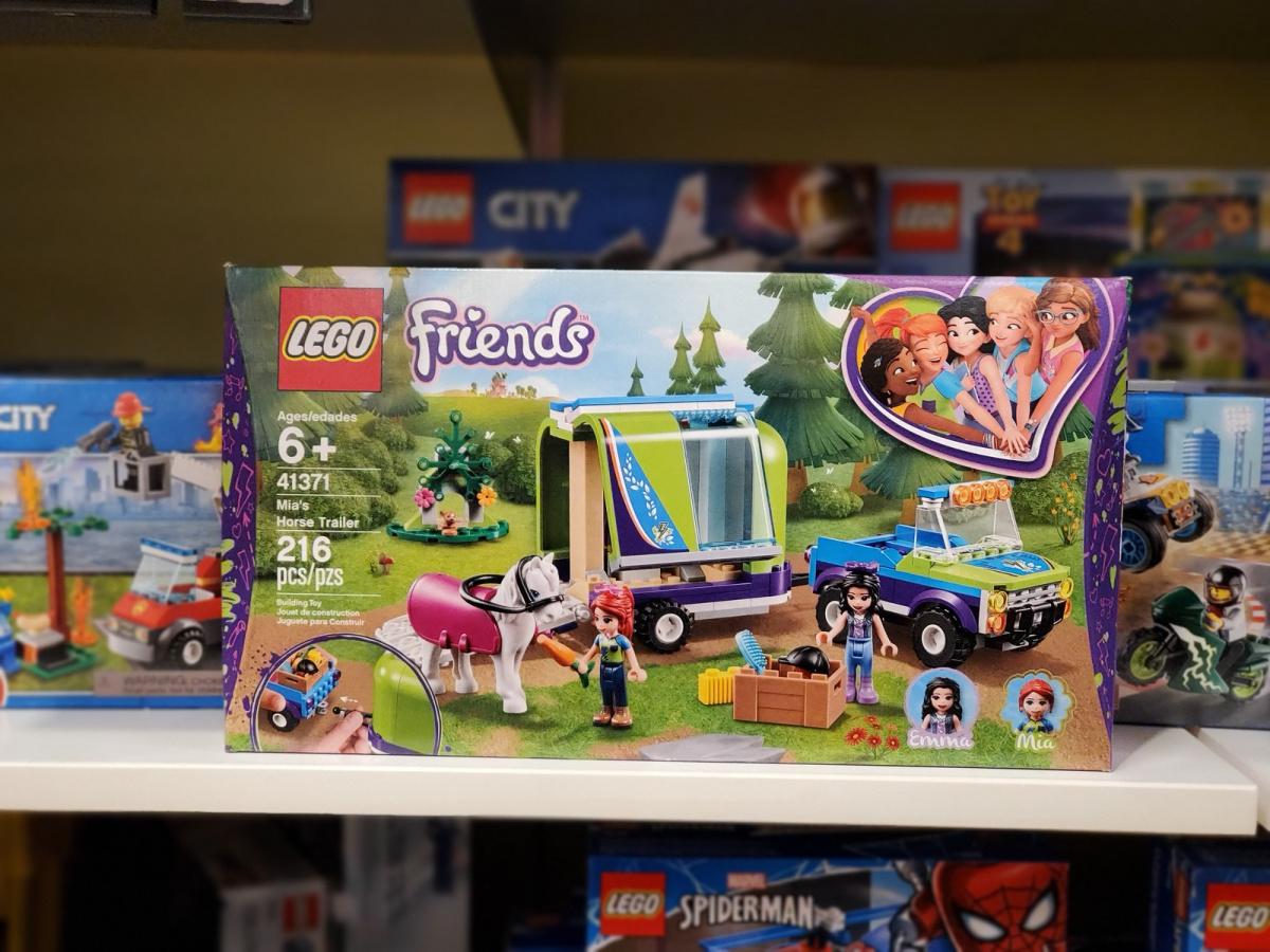 LEGO Friends Horse Set on store shelf