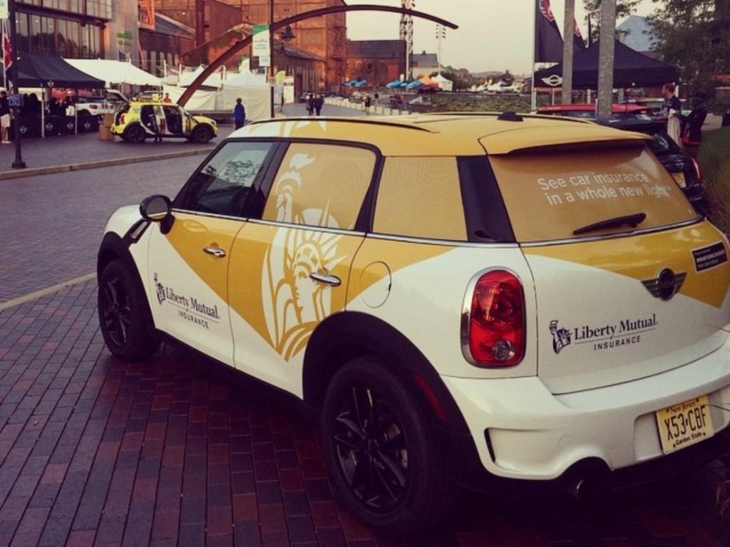 Liberty Mutual car