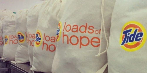 Tide is Offering Free Laundry Services to Front Line Responders in Select Cities