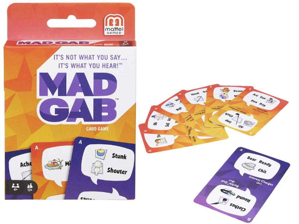 Mad Gab It's not what you SAY, it's what you HEAR! stock image