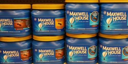 Maxwell House Coffee Canisters Only $4.99 Shipped on Walgreens.com (Regularly $11)