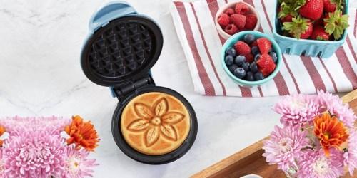 Dash Mini Flower Waffle Maker Only $7.99 on Target.com