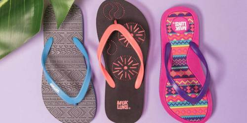 Muk Luks Sandals Only $5.99 on Zulily (Regularly $18)