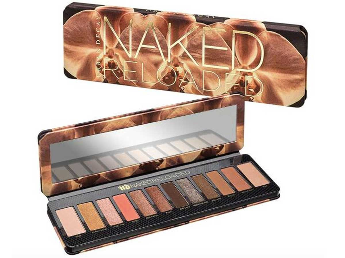 palette of eye shadow colors natural