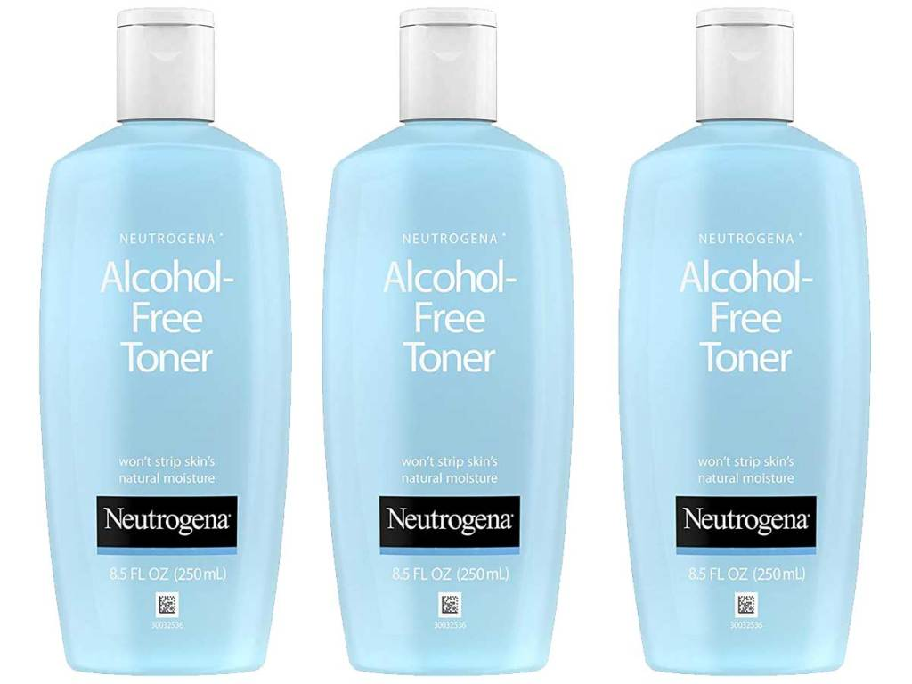 stock images of neutrogena alcohol free toner