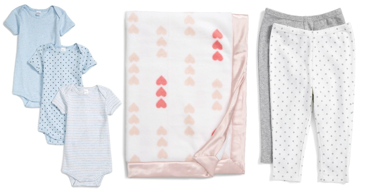 stock images of baby clothes and blanket