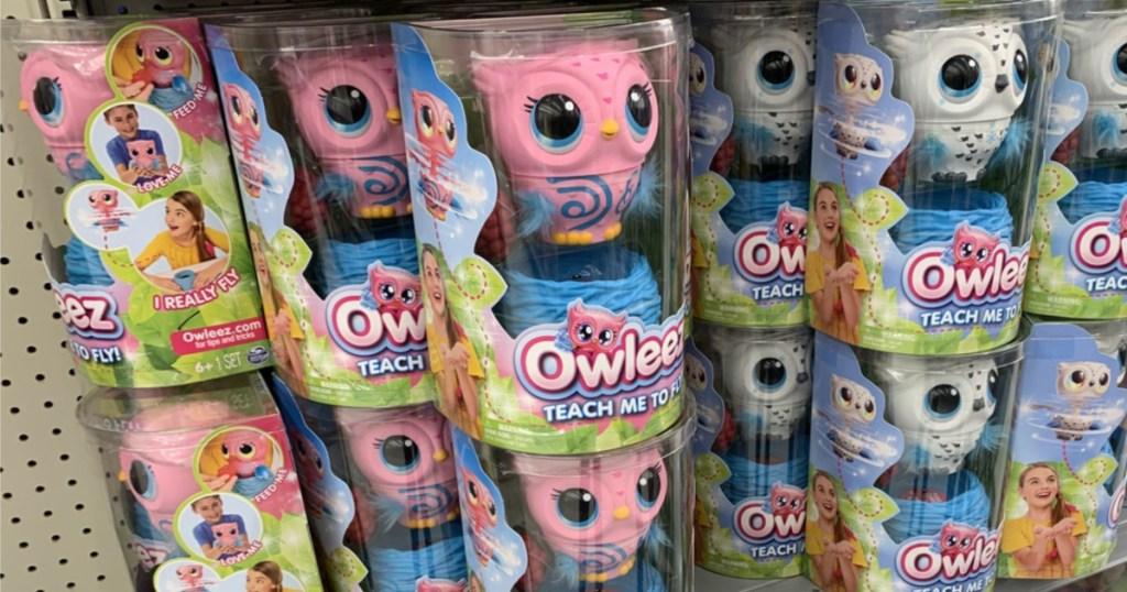 owleez interactive pets in aisle