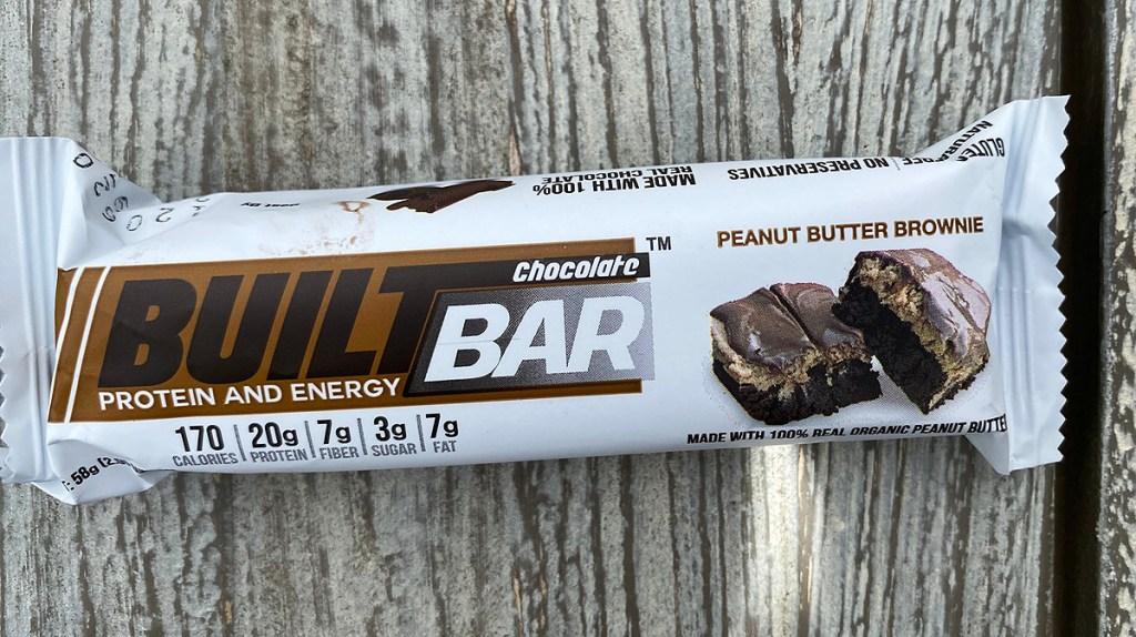 peanut butter brownie built bar