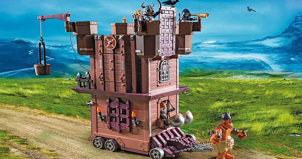 playmobil fortress scene