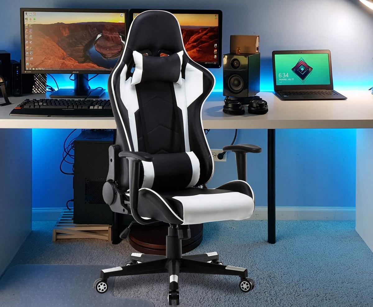 polar aurora gaming chair
