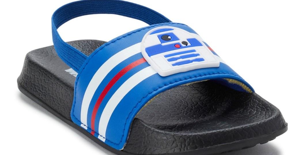 r2d2 kids slide sandal